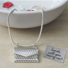 Marry Me Envelope Pendant - Unique Proposal Gift and Keepsake